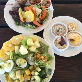 Gluten-free lunch from The Regency