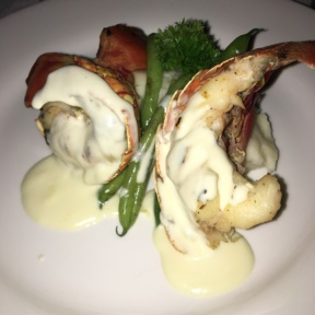 Gluten-free lobster at The Regency at Sandals