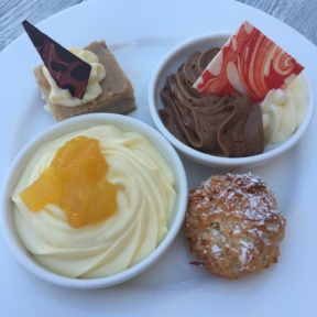 Gluten-free desserts from The Regency at Sandals