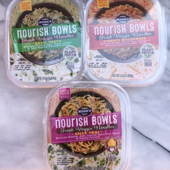 Nourish bowls from Mann's