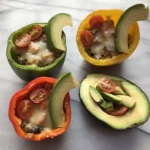 Gluten-free Quinoa Stuffed Peppers