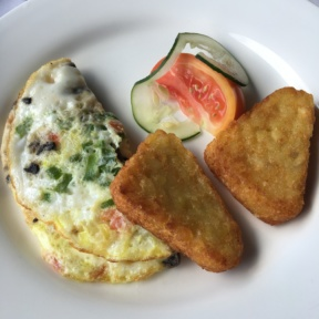 Gluten-free omelet from Club Sandals