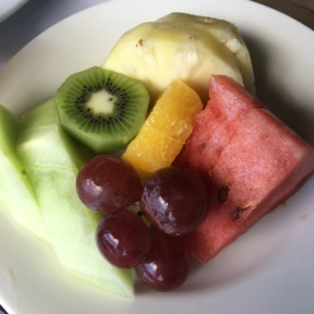 Fruit plate from Club Sandals