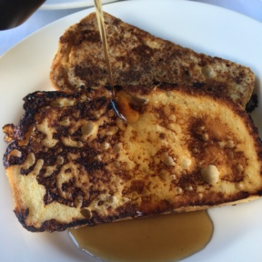 Gluten-free French toast from Club Sandals