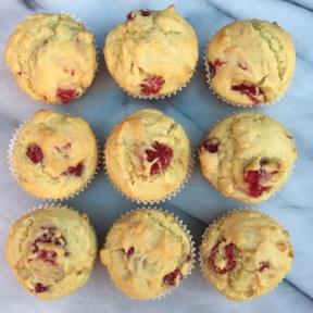 NineVegan Raspberry Muffins