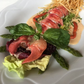 Lobster salad from Homestead Inn