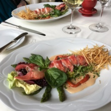 Gluten-free lobster salads from Homestead Inn