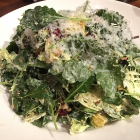 Gluten-free kale salad from Del Frisco's Grille