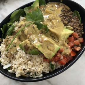 Vegan bowl from Gracias Madre