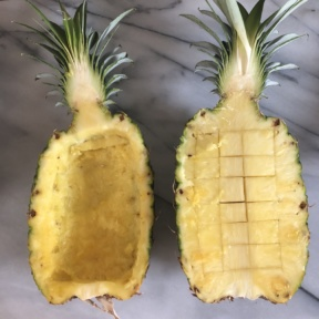How to make pineapple boats