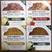 Gluten-free paleo pizza crusts by Califlour Foods