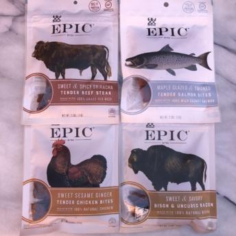 Gluten-free jerky by EPIC Bar