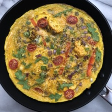 Gluten-free dairy-free Vegetable Frittata