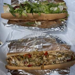 Gluten-free subs from Lola's Italian Kitchen in Natick