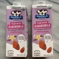 Gluten-free plant-based almondmilk by Mooala