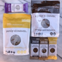 Gluten-free granola and bars by Purely Elizabeth