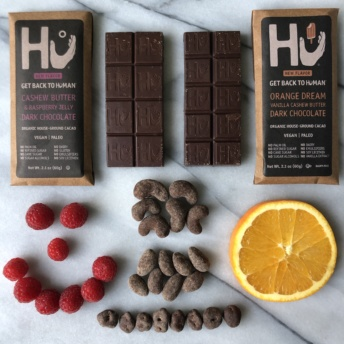 New gluten-free chocolate bars from Hu Kitchen