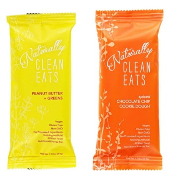 Gluten-free vegan bars by Naturally Clean Eats