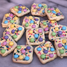 Gluten-free Easter Chocolate Bark