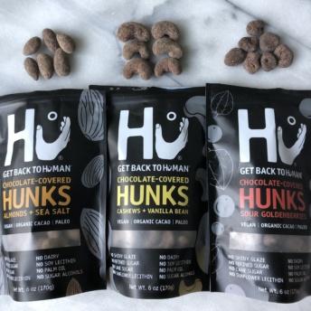 Gluten-free hunks by Hu Kitchen