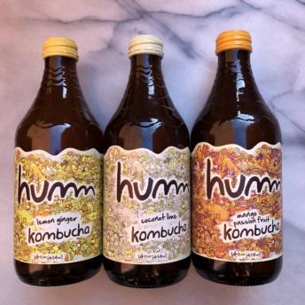 Gluten-free organic kombucha by Humm Kombucha