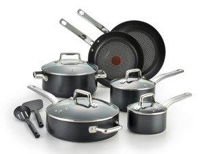 T-fal Pro Grade Titanium Nonstick Cookware Set