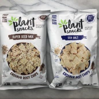 Gluten-free cassava root chips by Plant Snacks
