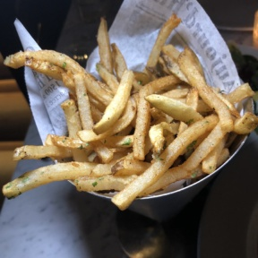 Gluten-free fries from Chez Ben