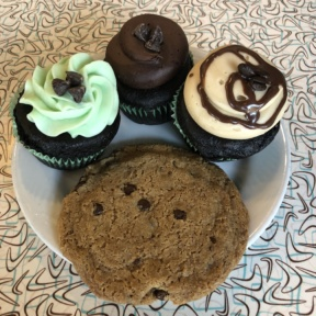 Gluten-free cupcakes from Sticky Fingers Sweets & Eats