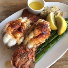 Lobster from Duke's Malibu