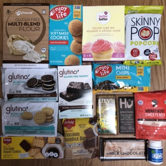 Gluten-free foods from Vitacost