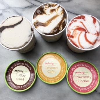 Gluten-free non-dairy frozen dessert pints by perfectlyfree