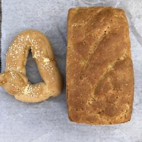 Gluten-free bread from Taffets Bakery