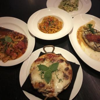 Gluten-free dinner from RPM Italian