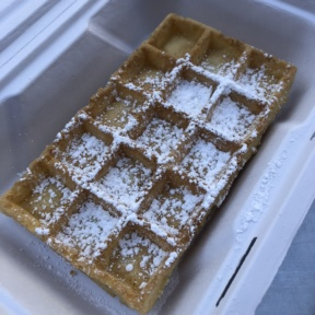 Waffle from Wicked Waffle