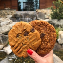 Gluten-free vegan cookies at 1440 Multiversity