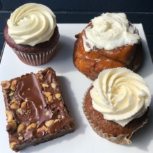 Gluten-free baked goods from Rise Bakery