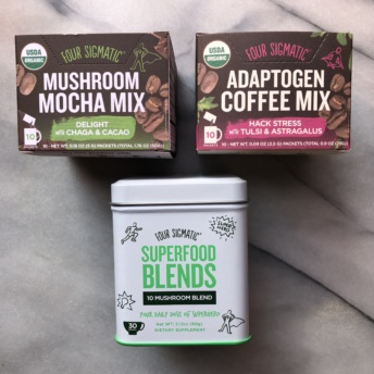 Coffee & mocha mixes and blends by Four Sigmatic