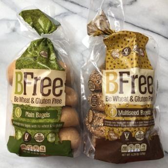 Gluten-free bagels by BFree Foods