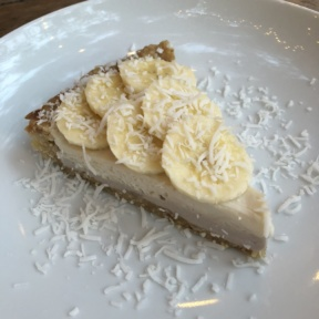 Gluten-free coconut cream pie from Plant Food + Wine