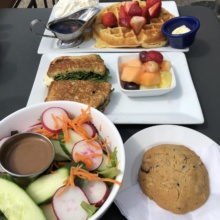 Gluten-free brunch from Tryst
