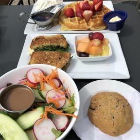 Gluten-free brunch from Tryst