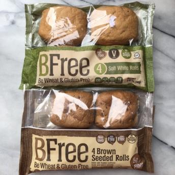 Gluten-free dairy-free rolls by BFree Foods