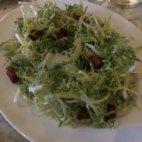 Frisee salad from Chez Ben