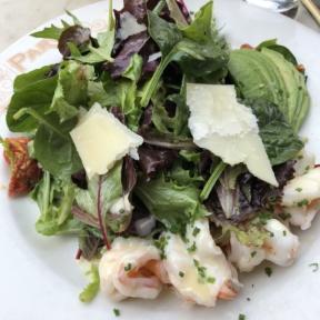 Shrimp salad from Parc Restaurant