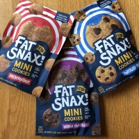 Gluten-free cookies by Fat Snax