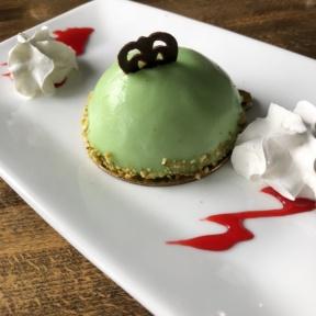 Gluten-free strawberry pistachio dome from ChouChou