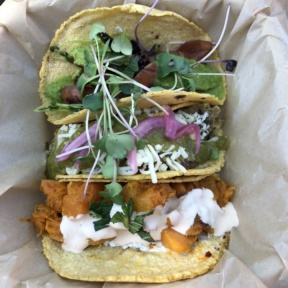 Gluten-free tacos from Chaia