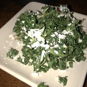 Gluten-free kale salad from Mercado