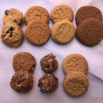 Seven gluten-free paleo cookies from Jack's Paleo Kitchen